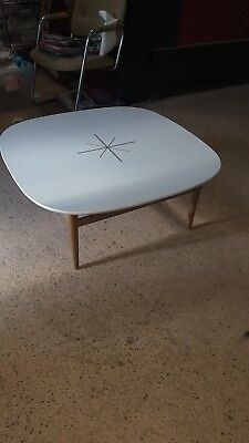 Mid Century Modern drexel Suncoast coffee table! Unique! Atomic!