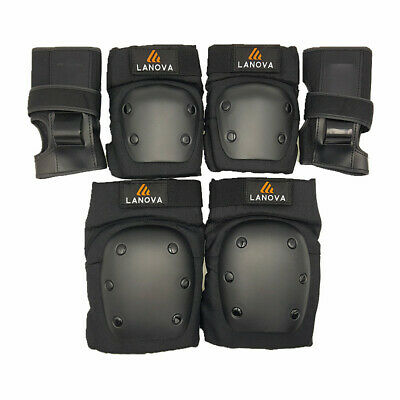 Skating Protective Gear Set Child Skateboard Knee Elbow Wrist Pad Safety Guard