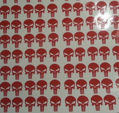 Helmet Award Stickers Sports Helmet Decal Set Punisher