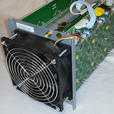 Bitmain Antminer S1 180 Gh/s  ASIC SHA256 BITCOIN Miner - No PSU -Used-Tested