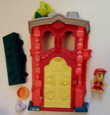 Play-Doh Town Firehouse Play Set Incomplete