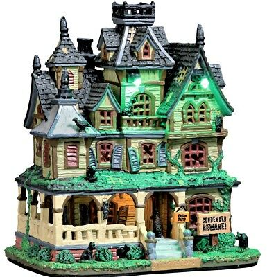 NEW in Box Lemax Spooky Town HAUNTED MANSION #75173, Halloween