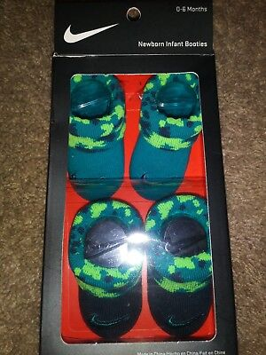 34d9735a733 BABY BOOTIES SOCKS Nike Air Jordan Lot Of 3 Pairs 0-6 MO Newborn ...