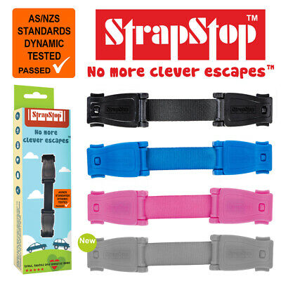 Strap Stop Baby Car Seat Safety Chest Strap  Stop Your Little Houdini 4 Colour