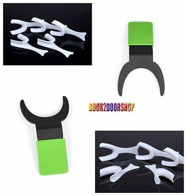 5Pcs Dental Opener Retractors With 1Pc Dental Contraster Background Board