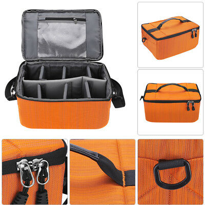 Waterproof Digital DSLR Camera Video Handbag Shoulder Bag Case For Canon Nikon