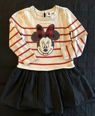 9483f714f BABYGAP DISNEY SIZE 2T Gray Long Sleeved Baby Girl Sleeping Beauty ...