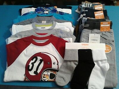 Nwt $340 Rv Gymboree 15 Pcs Boys Size 6  Lot Sets Fall Winter