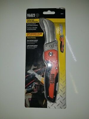 Klein Tools 44218 Folding Cable Skinning Utility Knife