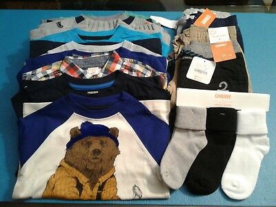 Nwt $387 Rv Gymboree  Boys Size 4 - 4T 18 Pcs  Lot Outfits  Fall Winter