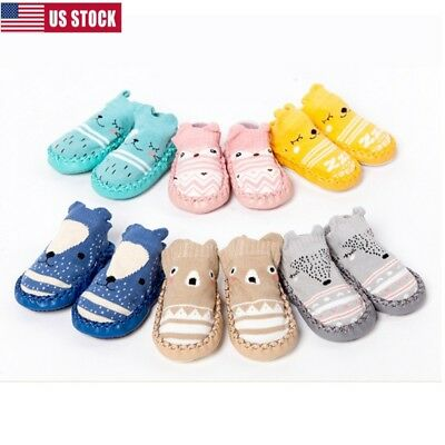Newborn Baby Girl Boy Shoes Footwear Kid Baby Floor Child Toddler Soles Infant