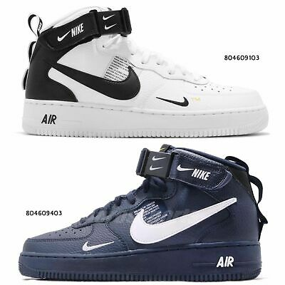 purchase cheap 1aea8 9fab4 Nike Air Force 1 MID 07 LV8 AF1 Mens Classic Shoes Sneakers Pick 1