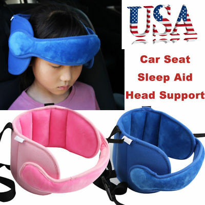 Baby Kids Safety Head Neck Support Car Seat Belt Headrest Pillow Pad Protector