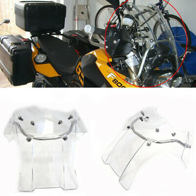 GS Windscreen Windshield Screen W/ Mount 2 Color For BMW Touring GS F 800 F 650