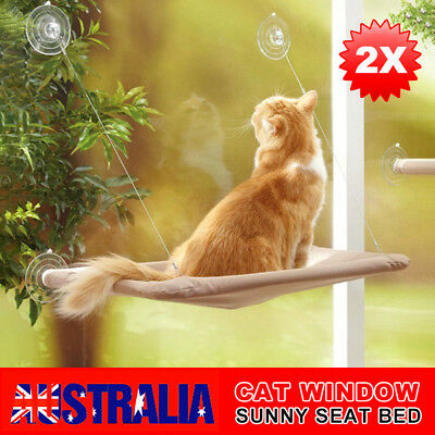 2PCS Washable Cat Window Mounted bed Seat Pets Sunny Cover Cushion