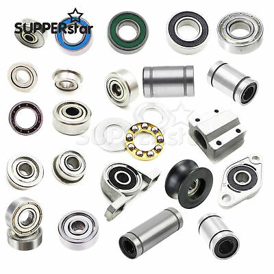 3-12mm 623ZZ 624ZZ LM12LUU Ball Bearings Small Double Shielded Ball Bearings
