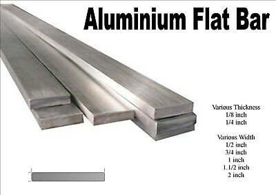 "1//2/"" Aluminum 2.5/"" x 18/"" Bar Sheet Plate 6061-T6 Mill Finish"