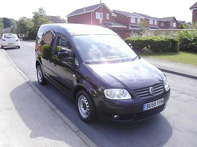 2010/59 VW CADDY TDi LIFE SIRUS DRIVE FROM AUTO WHEELCHAIR ACCESS