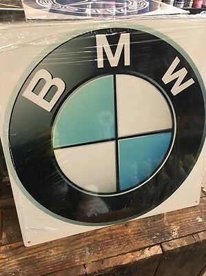 BMW Repro Metal Sign