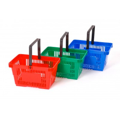 Shopping Baskets 21 Litre Plastic