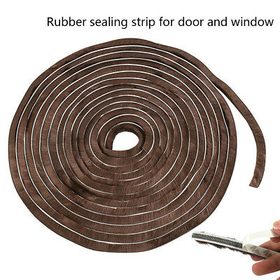 10M Brush Pile Window Frame Door Draught Excluder Seal Insulation Weather Strip