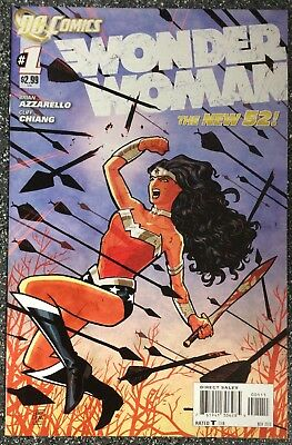 Wonder Woman #1 New 52