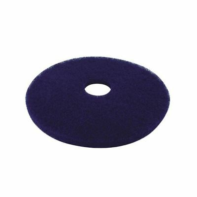 3M Blue 17 Inch 430mm Floor Pad (Pack of 5) 2ndBU17 [CNT01620]