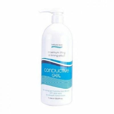 2 x Natural Look Conductive Gel 1L Firming Effect Hydrates face and body