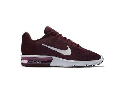 WOMENS NIKE AIR MAX SEQUENT 2 Black Trainers 852465 006