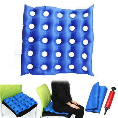 Inflatable Pain Relief Cushion / Pressure Sores / Haemorrhoids Piles WITH PUMP