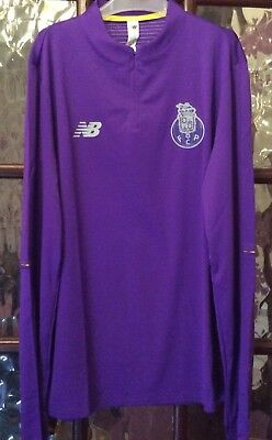 FC Porto Football New Balance Mid Lyr Training Shirt Mens L BNWT