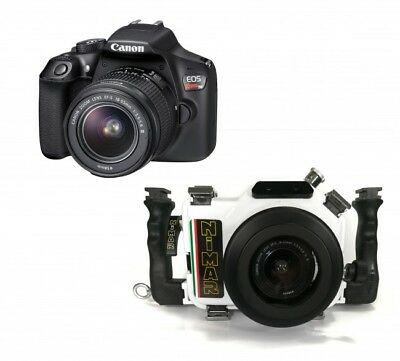 Nimar Underwater DSLR Package for Canon EOS 1500D / T7 with Camera and 18-55mm L
