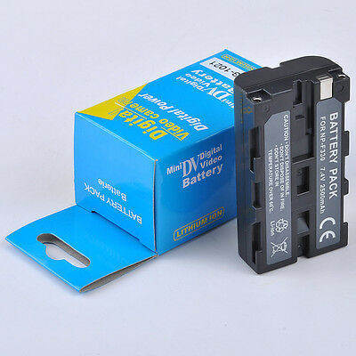 New Battery for SONY NP-F550 NP-F330 NP-F570 F750 F930 F950 NP-F530 Mavica US