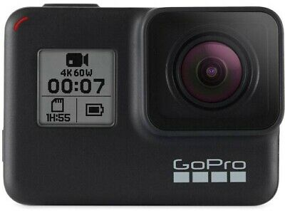 Cámara de Acción GOPRO Hero 7 Black edition 2018 Estabilizador UHD 4K60