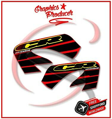 Honda CR250 Replica Stickers Decals 1992 Model Style Left Right Graphics