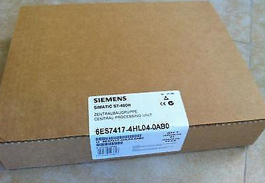 New Siemens Simatic S7-400 6ES7417-4HL04-0AB0 Central Processing Unit CPU 417-4H