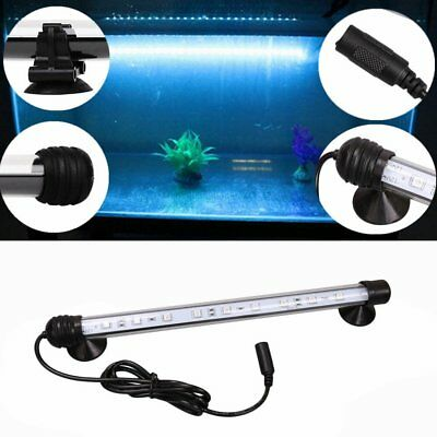IP68 Waterproof Aquarium Light LED Submersible Light Lamp Blue & White 18CM KG