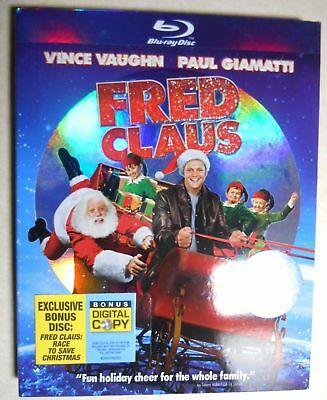 Fred Claus Blu-Ray Slipcover Only - Rare Oop Hhf Christmas Xmas Movie Cover
