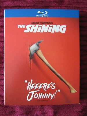 The Shining Blu-Ray Slipcover Only (No Movie) Free Shipping - Rare, Oop, Htf