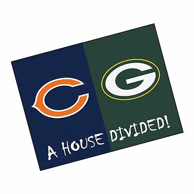 b3350253 NFL - HOUSE Divided Rugs Football Team Logo 33.75