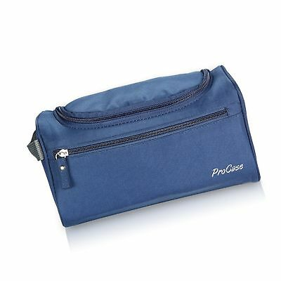 c376e7fd72a5 PROCASE TOILETRY BAG Organizer for Travel Hanging Hook Accessories ...