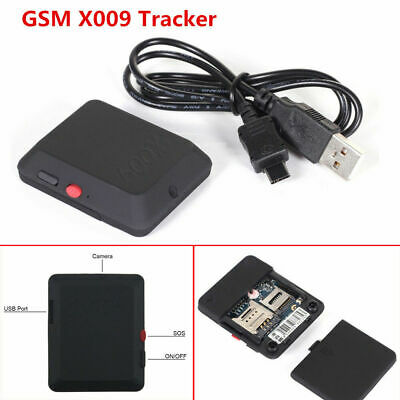 New X009 Mini GSM SIM GPRS Tracker Positioning Spy Ear Bug Audio Surveillance