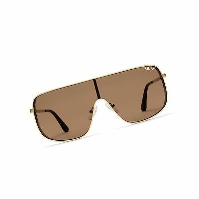 870f004750 Quay Women s x KYLIE Unbothered Sunglasses Gold Brown