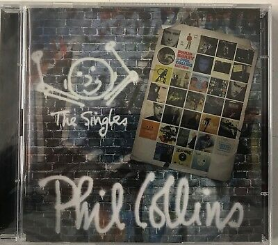 Phil Collins - The Singles - Phil Collins (2xCD) New Sealed Free P&P