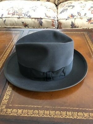 69bca12a4f35ab VINTAGE 60S ROYAL Stetson Fedora Hat Great Cond Not Much Used Very ...