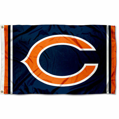 Chicago Bears Large Outdoor NFL 3 x 5 Banner Flag