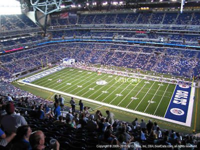 2 Indianapolis Colts PSL Season Ticket Rights 3rd Row TERRACE SIDELINE 609 AISLE