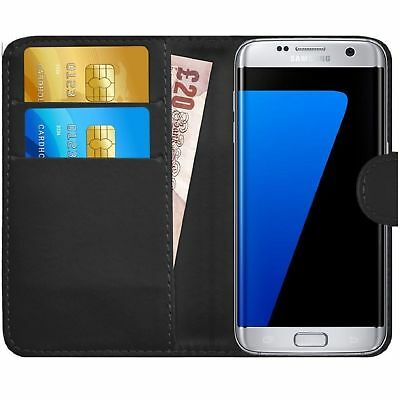 Case Cover For Samsung Galaxy J7, J7 core 2017 2018 Magnetic Flip Leather Wallet
