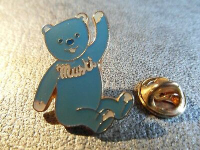 Rare Pins Pin's - Musti - Ourson - Mustela - Teddy - Bear - Parfum - Ours * Ef *