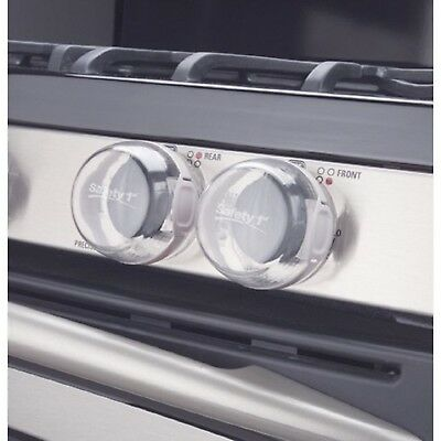 Safety 1st Clear View Stove Knob Covers Pack of 5